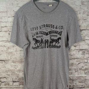 Levi's Grey T shirt